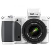 """Nikon 1 V2 Appareil photo numérique hybride 14,2 Mpix Écran LCD 3"""" 3X Blanc"""