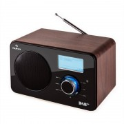 Auna Worldwide radio internet réseau WLAN DAB+ FM USB AUX -bois