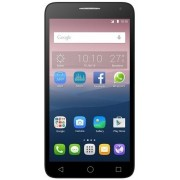 "Telefon Mobil Alcatel Pop 3 5065D, Procesor Quad-Core 1.1GHz, TFT Capacitive touchscreen 5"", 1GB RAM, 8GB Flash, 5MP, Wi-Fi, 4G, Dual Sim, Android (Argintiu) + Cartela SIM Orange PrePay, 6 euro credit, 4 GB internet 4G, 2,000 minute nationale si internati"