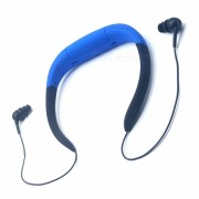 Al aire libre impermeable MP3 Radio FM auriculares w / memoria de 8GB - Azul