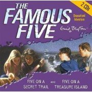 Five on Treasure Island & Five on a Secret Trail by Enid Blyton