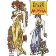 Paper Dolls in the Style of Mucha by Charles Ventura