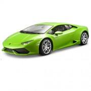 Bburago - 11038gr - Véhicule Miniature - Modèle À L'echelle - Lamborghini Huracan Lp 610-4 - 2014 - Echelle 1/18 [Couleurs aléatoires]