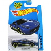 Hot Wheels - 2014 HW City 35/250 - Speed Team - Ferrari 458 Italia (blue)