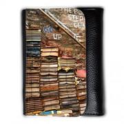 Cartera unisex // F00006504 biblioteca libri // Medium Size Wallet
