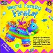 Edupress EP-LRN273 Word Family Fiesta 3-4 Letter Word Families