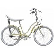 Bicicleta City Pegas Strada 2 1v Alb