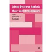 Critical Discourse Analysis by Gilbert Weiss