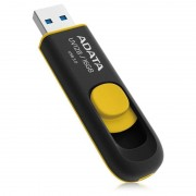Memorie USB Adata DashDrive UV128 16GB USB 3.0 black / yellow