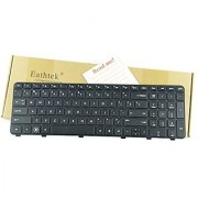 Eathtek Replacement Keyboard with Frame for HP Pavilion dv6-6000 dv6t-6000 CTO dv6-6100 dv6t- 6100 CTO dv6z-6100 CTO dv6-6200 dv6t-6200 CTO series Black US Layout
