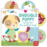 Tiny Tabs: Snuggle Puppy looks for the perfect hug by Jannie Ho