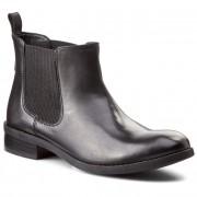 Bokacsizma CLARKS - Pita Sedona 261115754 Black Leather