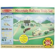 melissa&doug 10611 mountain tunnel train set