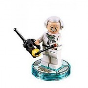 Lego Back To the Future Doc Brown Minifigure - Loose