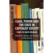 Class, Power and the State in Capitalist Society by Paul Wetherly