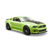 Maisto - 31506gr - Véhicule Miniature - Modèle À L'échelle - Ford Mustang Street Racer - 2014 - Echelle 1/24-Maisto
