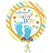 Balon folie Picioruse Baby Boy