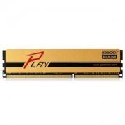 Памет GOODRAM Play 8GB 512×8 SR DIMM DDR4 PC4-19200 (2400MHz), GY2400D464L15S/8G