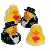 Set of 12 WEDDING Rubber Duckies/DUCKS BRIDE & GROOM/Marriage