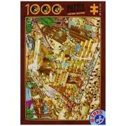 D-Toys - CARTOON COLLECTION Jigsaw Puzzle 1000 - Building the Pyramids - DT61218-CC-03