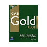 CAE Gold Plus Exam Maximiser with key and audio CD