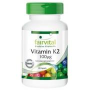 VITAMINA K2 100µg 30 CAPSULAS FAIRVITAL