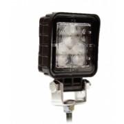Lampa patrata - lumina de lucru FLOOD cu 3 LED-uri