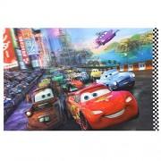 Disney Cars 2 - 3D Estera de tabla, Platzset, Estera de lugar La Carrera