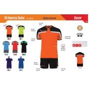Givova - Kit Calcio Kit America Fluo