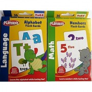 Playskool Alphabet and Numbers Flash Cards