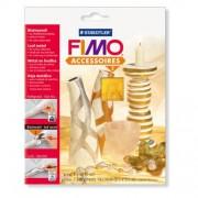 Foita de metal - Argint Fimo 878099