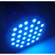 Spot cu 30x5050-SC,albastru, E27