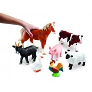 Jumbo Farm Animals Set Of 7