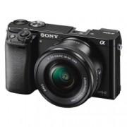 Sony Alpha A6000 kit PZ 16-50mm f/3.5-5.6 OSS - aparat foto mirrorless cu Wi-Fi si NFC