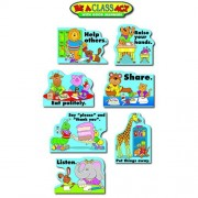 Carson Dellosa - Decoraciones Murales - Bulletin Board Set - Good Manners - Grades Pk - 5