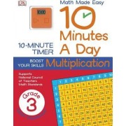 10 Minutes a Day: Multiplication, Third Grade by Alison Tribley