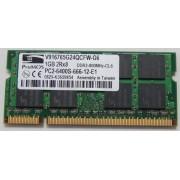 ProMOS 1GB 2Rx8 PC2-6400S-666-12-E1 DDR2-800MHz-CL6