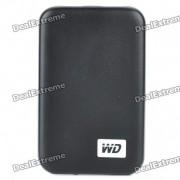 """Véritable WD 2,5 """"Disque dur externe USB 3.0 avec bo?tier - Noir (500 Go)"""