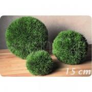 Boltze Graskugel als Deko für Terrasse oder Wohnung 15 cm