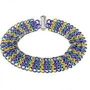 Weave Got Maille European 4-in-1 Chain Maille Bracelet Kit Iris