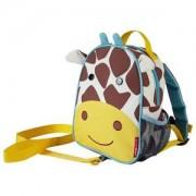 Skip Hop Zoo Mini Ryggsäck med Säkerhetsrem Giraff Ryggsäckar