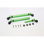 Axial SMT10 Grave Digger (AX90055) Upgrade Parts Aluminium Front&Rear Center Shaft With Steel Joint (138mm-148mm) - 1Pr Set Green