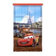Disney Cars -Set 1 Rideau Pour Chambre D'enfant /Porte Française -140x245 Cm