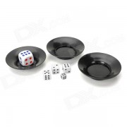 6985 Magia Super Flying Saucer Dados - Negro + blanco