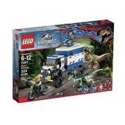 LEGO Jurassic World Raptor Rampage 75917 Building Kit by LEGO
