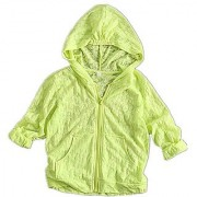 ABOGALE Kids Unisex UV/Sun Protection Hoodie Quick Dry Ultrathin Jacket For Travel And Beach(Fit for 3'1 -3'6 ) (Green)