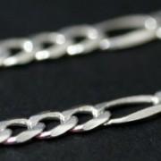 Corrente de Prata 925 de Elos 50cm / 3mm