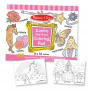 Melissa & Doug Jumbo Pink Coloring Pad - 4225