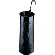 Portaombrelli in metallo traforato Durable - nero -