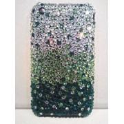 Cover Swarovski Green IPHONE